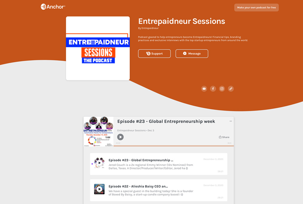 Entrepaidneur Podcast